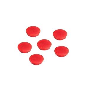 Magneti A-SERIES, 24 mm, 10 bucati, rosu
