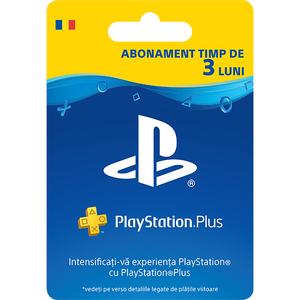 Abonament PlayStation Plus 3 luni (90 zile) RO PS4