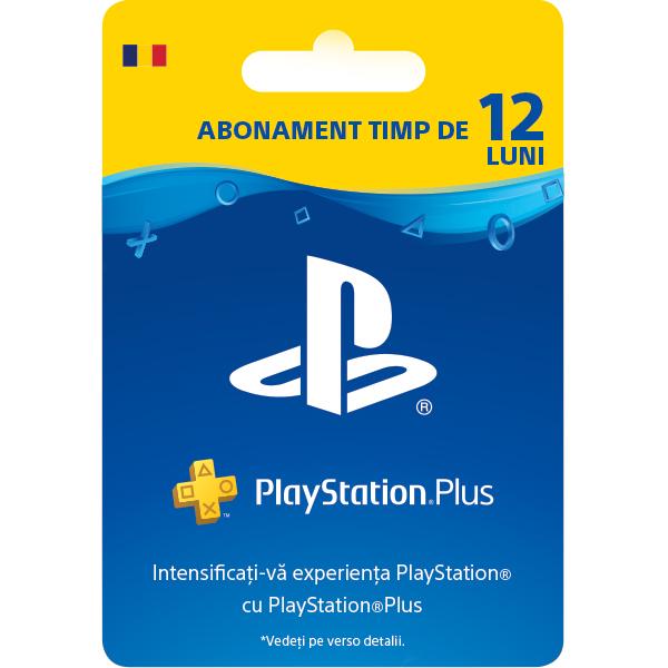 Abonament PlayStation Plus 12 luni (365 zile) RO PS4