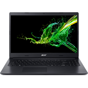 "Laptop ACER Aspire 3 A315-56-37LG, Intel Core i3-1005G1 pana la 3.4GHz, 15.6"" Full HD, 8GB, SSD 256GB, Intel UHD Graphics, Linux, negru"