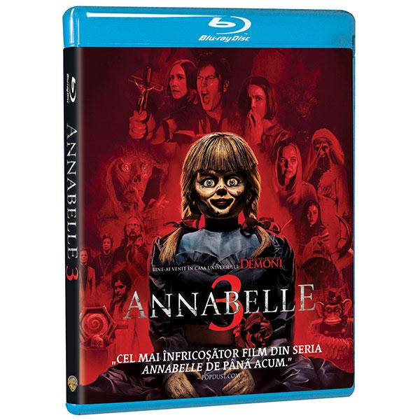 Annabelle 3 Blu-ray
