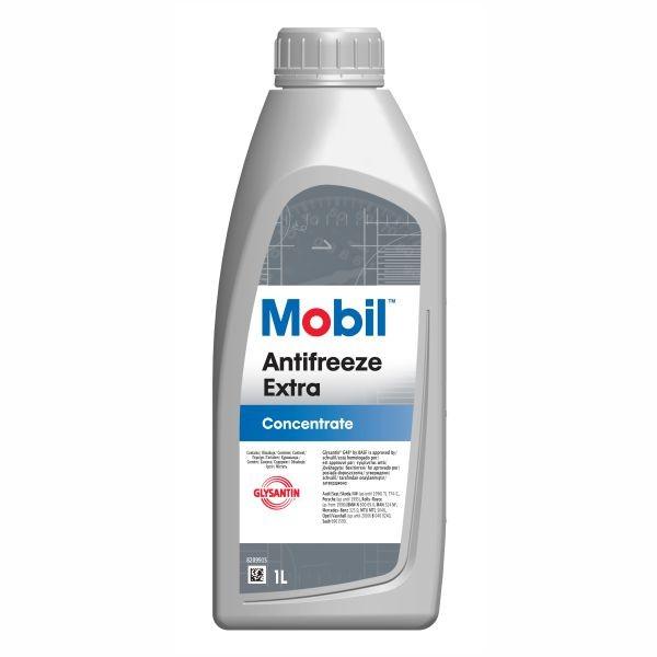 Antigel concentrat MOBIL Antifreeze Extra, albastru-verde 1L