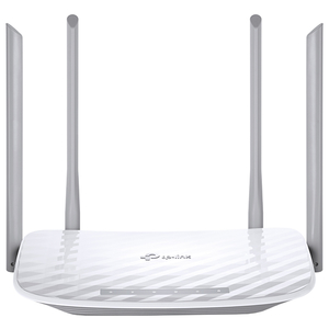 Router Wireless AC1200 TP-LINK Archer C50, Dual-Band 300 + 867 Mbps, WAN, LAN, alb