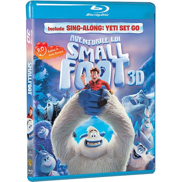 Aventurile lui Smallfoot Blu-ray 3D