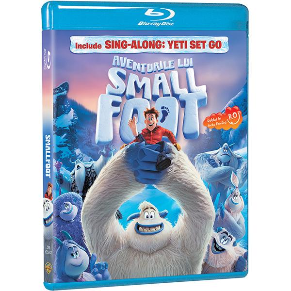 Aventurile lui Smallfoot Blu-ray