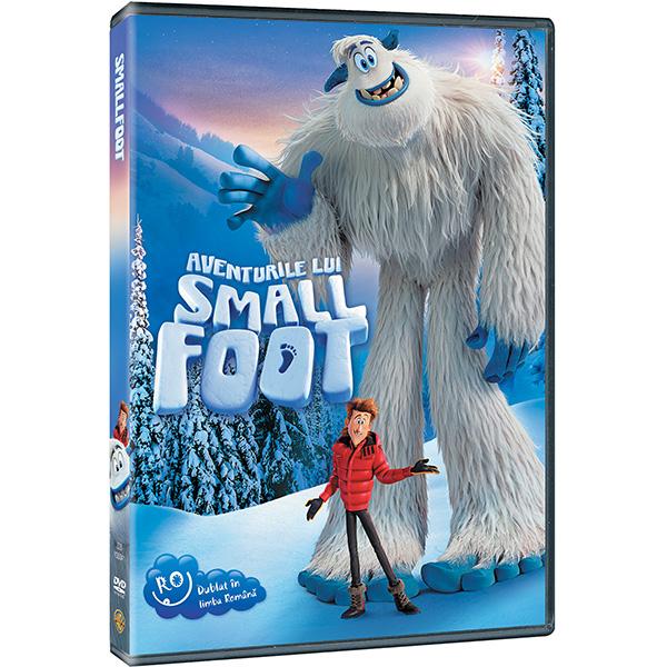 Aventurile lui Smallfoot DVD