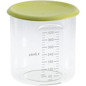 Recipient ermetic din tritan BEABA, 6 - 12 luni, 420 ml, verde