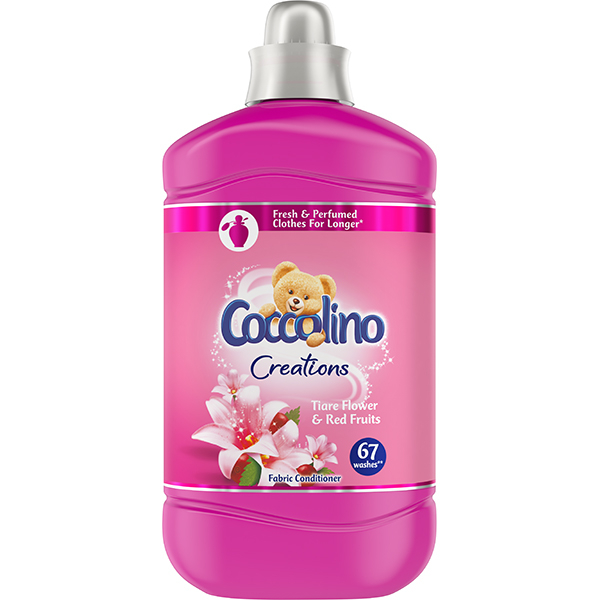 Balsam de rufe COCCOLINO Creat Tiare Flower, 1.68L, 67 spalari