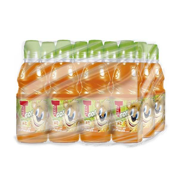 Bautura racoritoare pentru copii TEDY GO Morcov-Mar-Porto bax 0.33L x 12 sticle