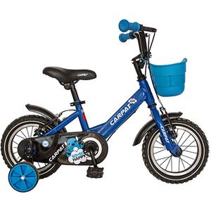 """Bicicleta pentru copii CARPAT C1201C, 12"""", albastru-negru"""