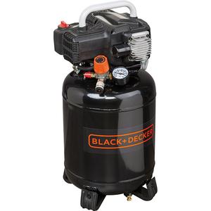 Compresor BLACK & DECKER BD 195/24V-NK, fara ulei, 24 litri, 1.5 CP, 10 Bar