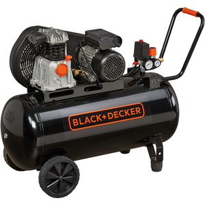 Compresor BLACK & DECKER BD 220/100-2M, cu ulei, 100 litri, 2 CP, 10 Bar
