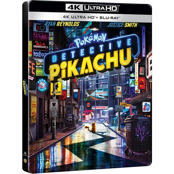 Pokémon Detectiv Pikachu Steelbook Blu-ray 4K