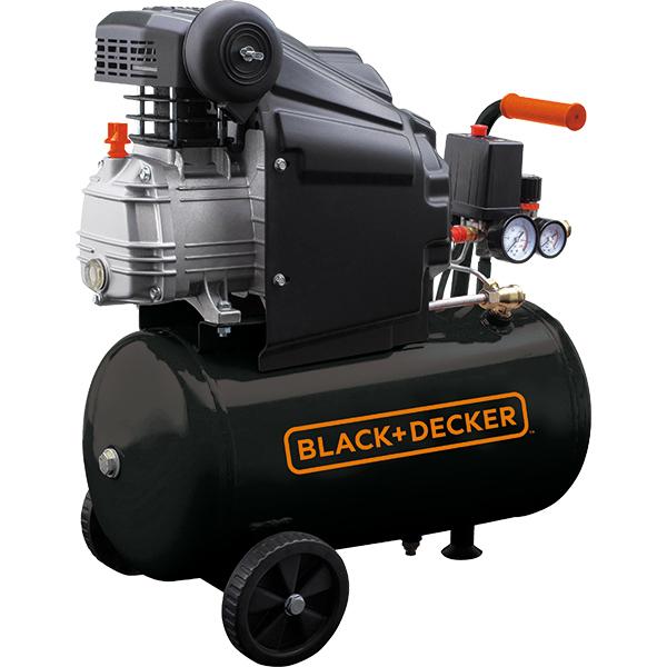 Compresor BLACK & DECKER BD 205/24, Electric, cu ulei, 24 litri, 2CP, 8 Bar