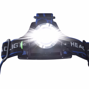 Lanterna frontala MEDIASHOP M13812, Raza 6 Km, Aluminiu