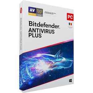 BITDEFENDER Antivirus Plus 2020, 1 an, 3 PC, Retail