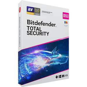 BITDEFENDER Total Security 2020, 1 an, 5 PC, Retail