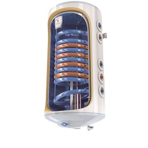 Boiler termo-electric vertical TESY BiLight cu 2 serpentine GCV 7/4 S2 1504420 B11 TSRCP, 150l, 2000W, 8 bari, alb