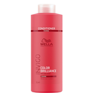 Balsam de par WELLA Invigo Color Brilliance for Coarse Hair, 1000ml
