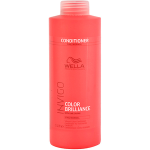Balsam de par WELLA Invigo Color Brilliance for Fine Hair, 1000ml