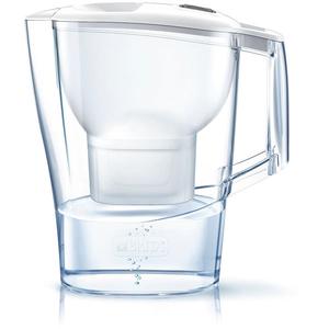 Cana filtranta BRITA Aluna BR1026412 + 3 filtre Maxtra+, 2.4l, alb-transparent