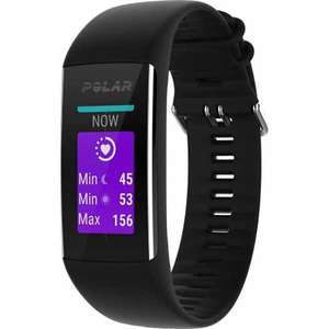 Bratara fitness POLAR A370, Medium/Large, Android/iOS, Black