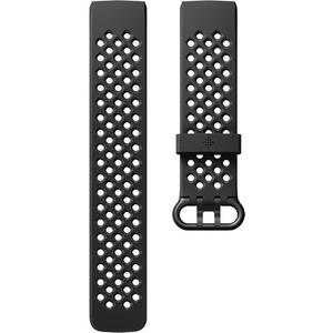 Bratara pentru FITBIT Charge 3 FB168SBBKS, Sport, Small, silicon, Black