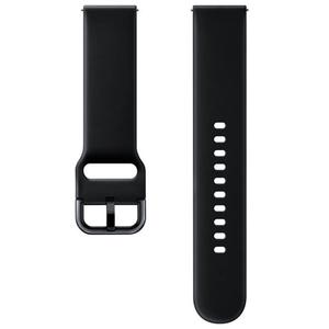 Bratara pentru SAMSUNG Galaxy Watch Active, ETSFR50MBEGWW, silicon, negru