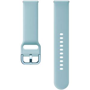 Bratara pentru SAMSUNG Galaxy Watch Active, ETSFR50MLEGWW, silicon, albastru deschis