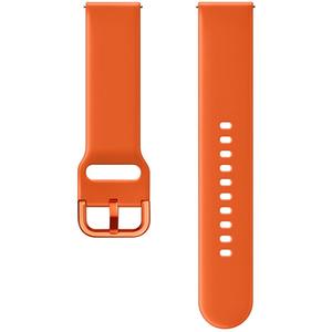 Bratara pentru SAMSUNG Galaxy Watch Active, ETSFR50MOEGWW, silicon, portocaliu