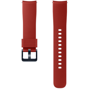 Bratara pentru SAMSUNG Galaxy Watch, ETYSU81MREGWW, 42mm, silicon, rosu