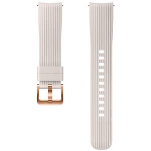 Bratara pentru SAMSUNG Galaxy Watch, ETYSU81MSEGWW, 42mm, silicon, gri