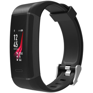Bratara fitness MAXCOM FitGo FW13 Nitro, Android/iOS, silicon, negru