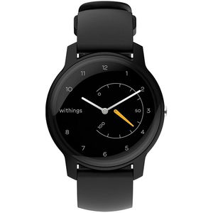 Smartwatch WITHINGS Move, Android/iOS, silicon, Black Yellow