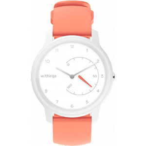 Smartwatch WITHINGS Move, Android/iOS, silicon, White Coral