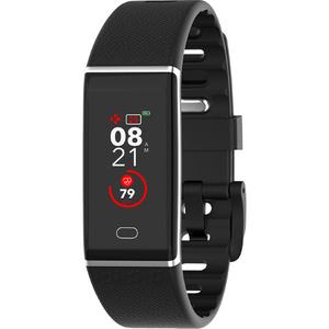 Bratara fitness MYKRONOZ ZeTrack, Android/iOS, silicon, negru