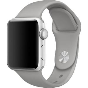 Bratara pentru APPLE Watch Seria 1, 38 mm, silicon, gray