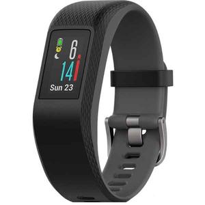 Bratara Fitness GARMIN Vivosport, Android/iOS, silicon, Large, Slate