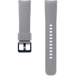 Bratara pentru SAMSUNG Galaxy Watch, 20mm, silicon, gri