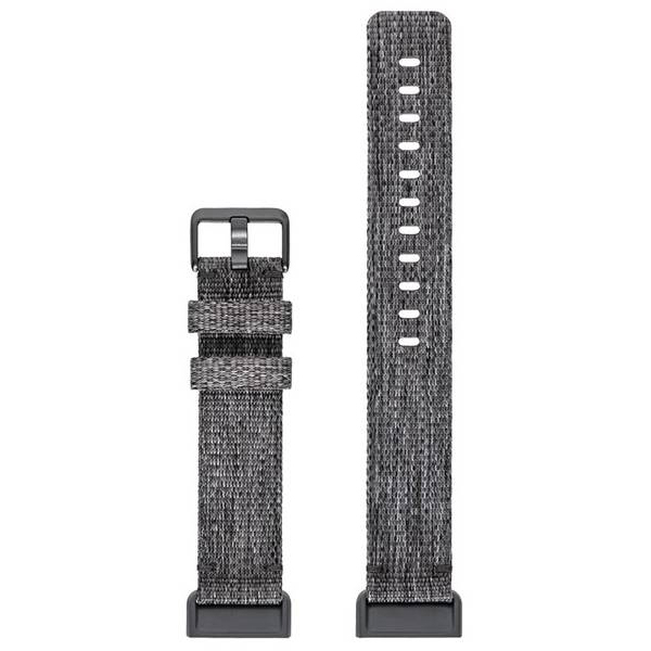 Bratara pentru FITBIT Charge 3 FB168WBGYS, Women, Small, silicon, Charcoal