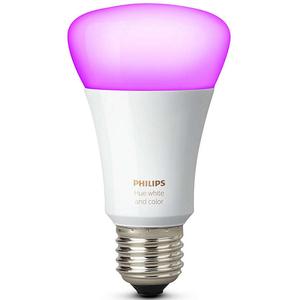 Bec LED PHILIPS Hue A19 10W (60W), E27, Lumina RGB