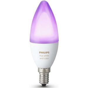 Bec LED PHILIPS Hue B39 6W (25W), E14, Lumina RGB