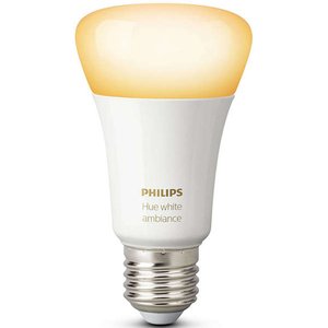 Bec LED PHILIPS Hue A60 9.5W (60W), E27, Lumina variabila