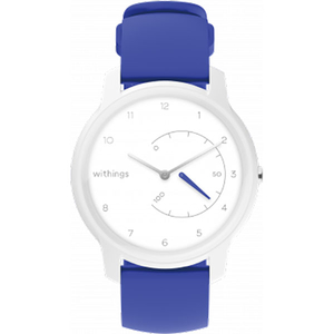 Smartwatch WITHINGS Move, Android/iOS, silicon, White Blue
