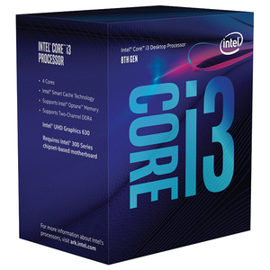 Procesor Intel® Core™ i3-8100, 3.6GHz, 6MB, BX80684I38100