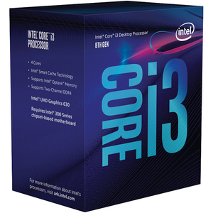 Procesor Intel® Core™ i3-8300, 3.7GHz, 8MB, BX80684I38300
