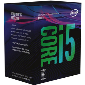 Procesor Intel Core i5-8600 3.1/4.3GHz, 9MB, BX80684I58600