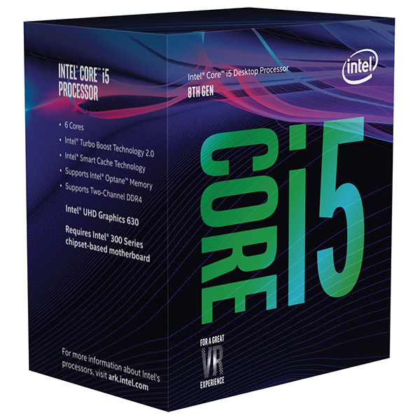 Procesor Intel® Core™ i5-8400, 2.8GHz/4.0GHz, 9MB, BX80684I58400