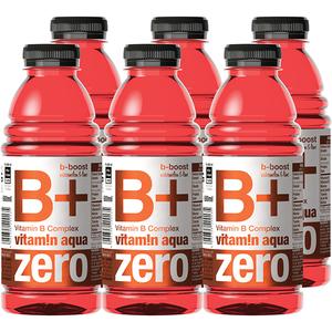 Apa cu vitamine B+ ZERO VITAMIN AQUA Watermelon&Lime bax 0.6L x 6 sticle