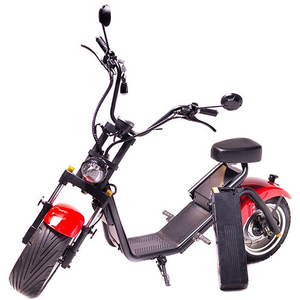 Moped electric FREEWHEEL MotoRo S1, 12 inch, rosu